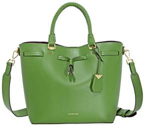Michael Kors Blakely Medium Bucket Bag- True Green - ONE COLOR - STYLE