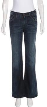 Citizens of Humanity Distressed Flared Mid-Rise Jeans