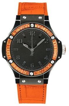 Hublot Big Bang Black Orange Date 38mm Watch
