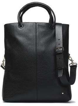 Halston Pebbled-Leather Tote