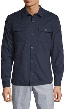 Original Penguin Filled Long-Sleeve Shirt Jacket