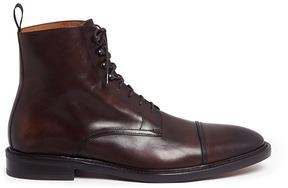 Antonio Maurizi Leather Derby boots