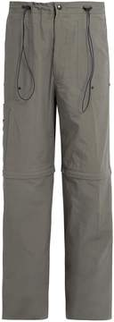 Lanvin Straight-leg drawstring-waist trousers