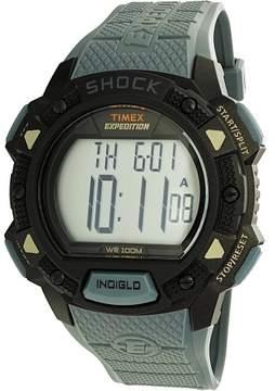 Timex Men's TW4B09400 Grey Polyurethane Quartz Sport Watch