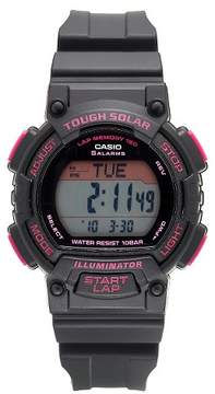Casio Women's Solar-Powered Runner Watch - Black