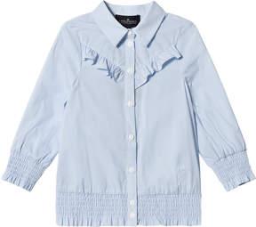 Little Remix Light Blue Cali Ruffle Shirt