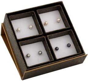 Bella Pearl Freshwater Pearl Stud Earring Set SET-P