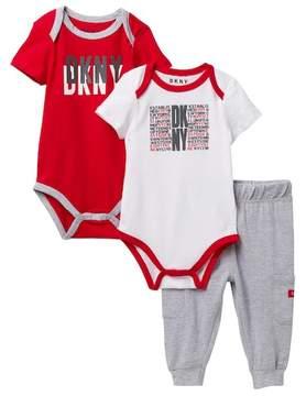 DKNY West Side Jogger Set (Baby Boys 0-9M)
