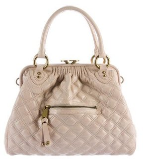 Marc Jacobs Quilted Stam Bag - PINK - STYLE