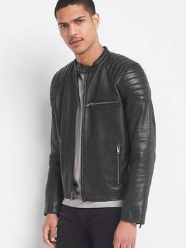 Gap Leather biker jacket