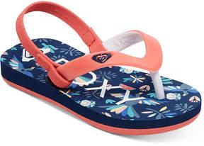 Roxy Tahiti Vi Flip-Flop Sandals, Toddler Girls (4.5-10.5) & Little Girls (11-3)