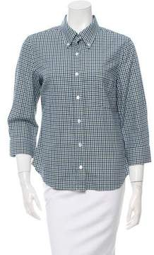 Boy By Band Of Outsiders Flannel Button-Up Top