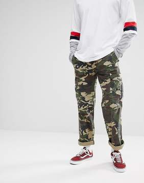Dickies New York Camo Cargo Pants In Relaxed Fit