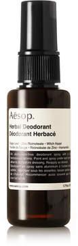 Aesop Herbal Deodorant, 50ml - Colorless