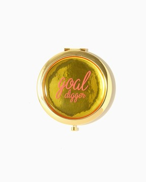 Charming charlie Goal Digger Compact Mirror