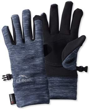 L.L. Bean L.L.Bean Multisport Power Stretch Gloves, Print