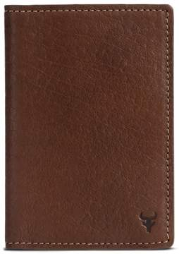 Trask Men's Jackson Passport Cover - Brown