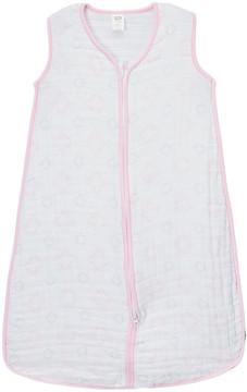 Hudson Baby Pink Damask Muslin Sleeping Bag - Infant