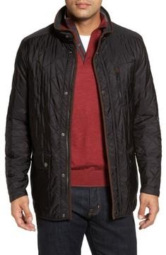 Paul & Shark Men's Fleece Lined Quilted Jacket