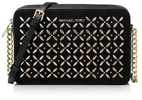 MICHAEL Michael Kors East West Hotfix Leather Crossbody