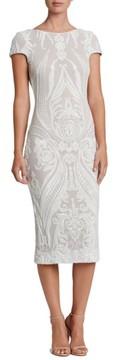 Dress the Population Women's Brandi Sequin Body-Con Dress