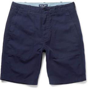 Alex Mill Cotton And Linen-Blend Canvas Shorts