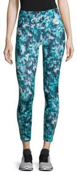 Gaiam Lana Lennon Print High-Rise Leggings