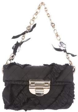 Nina Ricci Ruffle-Accented Nylon Bag