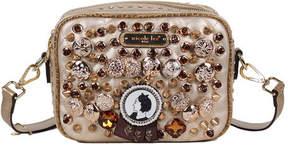 Nicole Lee Women's Darva Vintage Button Cross Body Bag