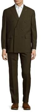 Michael Bastian Double-Breasted Wool Suit