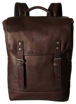 Kenneth Cole Reaction Colombian Leather - Computer Backpack Backpack Bags
