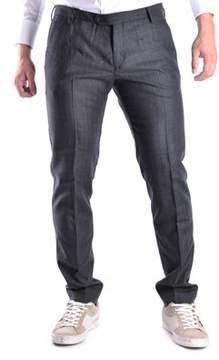 Trussardi Men's Grey Wool Pants.