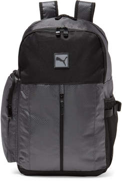 Puma Grey & Black Evercat Thunder Backpack