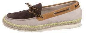 Paul Smith Cheviot Jute-Trimmed Moccasins