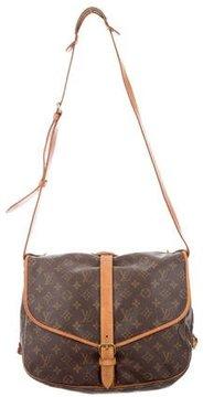 Louis Vuitton Monogram Saumur Messenger Bag