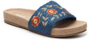Mia Women's Stitches Flat Sandal