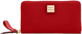 Dooney & Bourke Belvedere Large Zip Around Wristlet - BLACK - STYLE