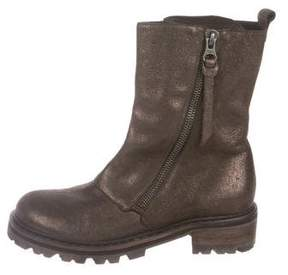 Henry Beguelin Suede Mid-Calf Boots