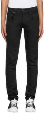 Rag & Bone Black Standard Issue Fit 1 Skinny Jeans