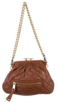 Marc Jacobs Stam Quilted Leather Bag - BROWN - STYLE