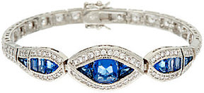 Elizabeth Taylor The Simulated Sapphire Tennis Bracelet
