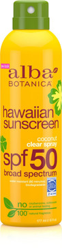 Alba Botanica Hawaiian Coconut Spray Sunscreen SPF 50
