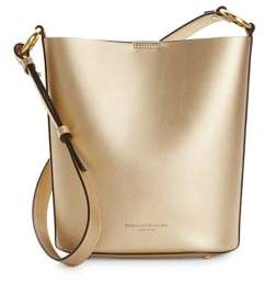 Donna Karan Leather Bucket Bag