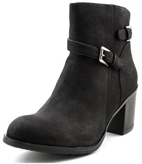 American Rag Peyton Women Round Toe Synthetic Black Ankle Boot.