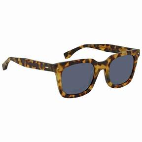 Fendi Blue Square Sunglasses FF 0216/S SCL/KU 53