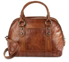 Melissa Leather Domed Satchel