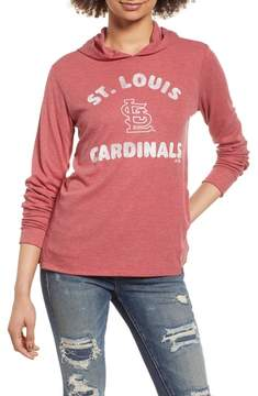 '47 Campbell St. Louis Cardinals Rib Knit Hooded Top