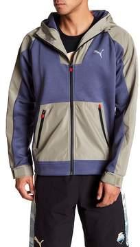 Puma Emory Jones Contrast Hooded Jacket