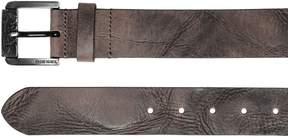 Diesel 40mm Vintage Effect Leather Belt