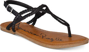 American Rag Keira Braided Flat Sandals, Created for Macy's Women's Shoes